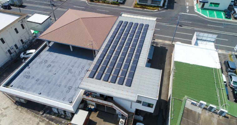 太陽光発電!