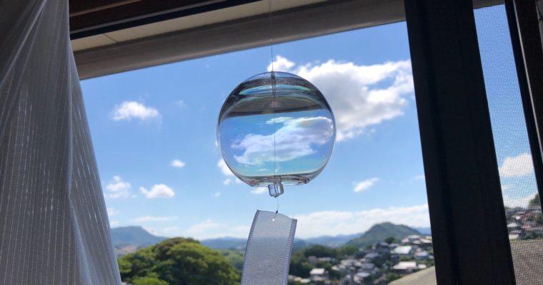 【ブログ】夏、風鈴