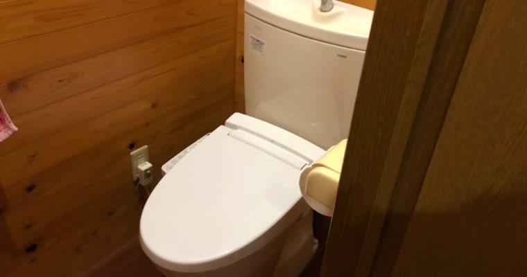 【施工事例】トイレ取替(シャワートイレ)